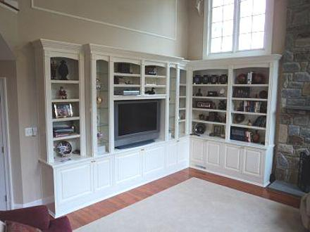 Entertainment Center And Library